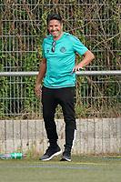 Eintracht Trainer Turgut Uygun - 06.09.2020: Spiel der Woche - TSG Worfelden vs. SG DJK Eintracht Rüsselsheim, B-Liga