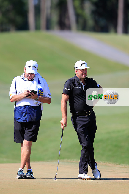 Graeme McDowell (NIR) during round 3 of the Players, TPC Sawgrass, Championship Way, Ponte Vedra Beach, FL 32082, USA. 14/05/2016.<br /> Picture: Golffile | Fran Caffrey<br /> <br /> <br /> All photo usage must carry mandatory copyright credit (&copy; Golffile | Fran Caffrey)
