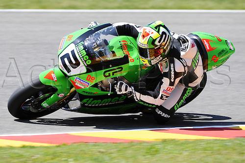 06 06 2010 Gabor Talmacsi Hun Speed Up. Moto2 class, 600cc spec Honda eninges in prototype chassis. Gran Premio d'Italia TIM, Mugello circuit, Italy.