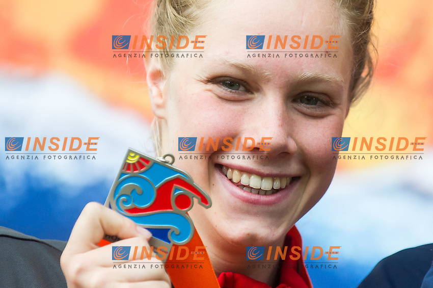 WUNRAM Finnia GER silver medal <br /> Hoorn, Netherlands <br /> LEN 2016 European Open Water Swimming Championships <br /> Open Water Swimming<br /> Women's 5km<br /> Day 02 12-07-2016<br /> Photo Giorgio Perottino/Deepbluemedia/Insidefoto
