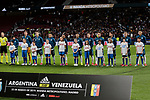 Argentina's team photo during International Adidas Cup match between Argentina and Venezuela at Wanda Metropolitano Stadium in Madrid, Spain. March 22, 2019. (ALTERPHOTOS/A. Perez Meca)