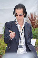 "Nick Cave attending the ""Lawless"" Photocall during the 65th annual International Cannes Film Festival in Cannes, France, 19th May 2012...Credit: Timm/face to face /MediaPunch Inc. ***FOR USA ONLY***"