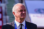Australia Head Coach Graham Arnold looks on prior to the AFC Asian Cup UAE 2019 Group B match between Palestine (PLE) and Australia (AUS) at Rashid Stadium on 11 January 2019 in Dubai, United Arab Emirates. Photo by Marcio Rodrigo Machado / Power Sport Images