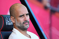 Manchester City Manager Pep Guardiola during AFC Bournemouth vs Manchester City, Premier League Football at the Vitality Stadium on 25th August 2019
