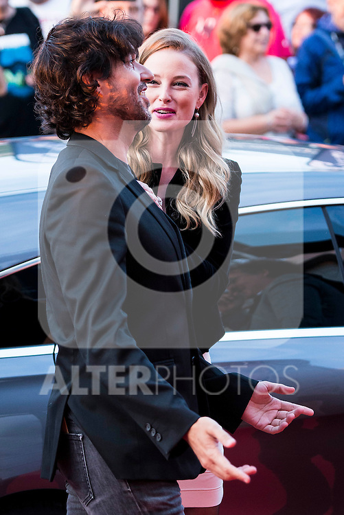 Miguel Angel Vivas and Rachel Nichols during the red carpet of the opening ceremony of the Festival de Cine Fantastico de Sitges in Barcelona. October 07, Spain. 2016. (ALTERPHOTOS/BorjaB.Hojas)