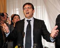 NAPOLI 22/01/2012 NICOLA COSENTINO IN CONFERENZA STAMPA SULLA SUA ESCLUSIONE DALLE LISTE..NELLA FOTO NICOLA COSENTINO .