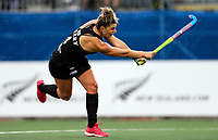 Olivia Merry during the World Hockey League match between New Zealand and Korea. North Harbour Hockey Stadium, Auckland, New Zealand. Saturday 18 November 2017. Photo:Simon Watts / www.bwmedia.co.nz