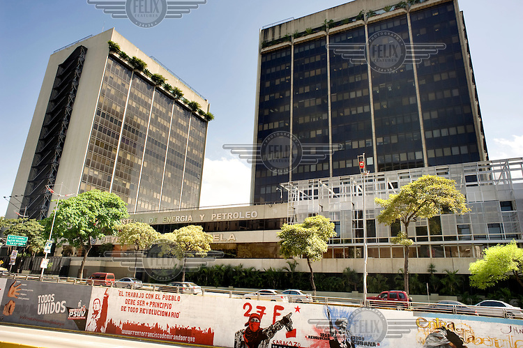 The Ministry of Energy and Oil in Caracas..