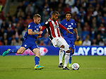 Leon Clarke of Sheffield Utd during the Championship match at the Cardiff City Stadium, Cardiff. Picture date: August 15th 2017. Picture credit should read: Simon Bellis/Sportimage