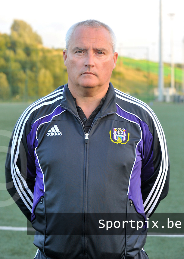 RSC Anderlecht Dames : keeperstrainer Pascal Lenglez.foto DAVID CATRY / VROUWENTEAM.BE