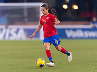 , FL - : Katherine Alvarado of Costa Rica #16 dribbles during a game between  at  on ,  in , Florida.