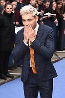 "Zac Efron<br /> arriving for the ""Extremely Wicked, Shockingly Evil And Vile"" premiere at the Curzon Mayfair, London<br /> <br /> ©Ash Knotek  D3495  23/04/2019"