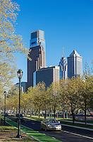 Downtown Philadelphia, Pennsylvania, USA