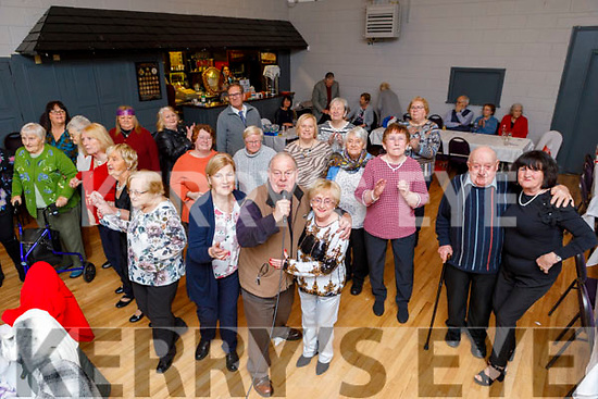 Enjoying the Connolly Park Active Retirement party in the Austin Stacks Clubhouse on Sunday.
