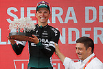 Rafal Majka (POL) Bora-Hansgrohe wins Stage 14 of the 2017 La Vuelta, running 175km from &Eacute;cija to Sierra de La Pandera, Spain. 2nd September 2017.<br /> Picture: Unipublic/&copy;photogomezsport | Cyclefile<br /> <br /> <br /> All photos usage must carry mandatory copyright credit (&copy; Cyclefile | Unipublic/&copy;photogomezsport)