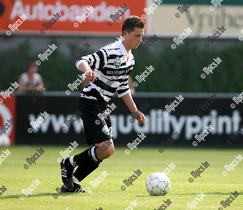 2008-07-27 / Voetbal / Seizoen 2008-2009/ KVV Belgica Edegem Sport / Dries Bouquillon..Foto: Maarten Straetemans (SMB)