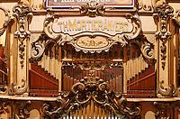 Europe/France/Nord-Pas-de-Calais/59/Nord/Flandre/Herzeele: Café des orgues - Détail des orgues mécaniques conçus par le facteur Théophile Mortier [à Anvers]
