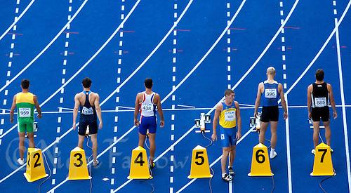 19 AUG 2009 - BERLIN, GER - Decathlon 100m Heat - World Athletics Championships (PHOTO (C) NIGEL FARROW)