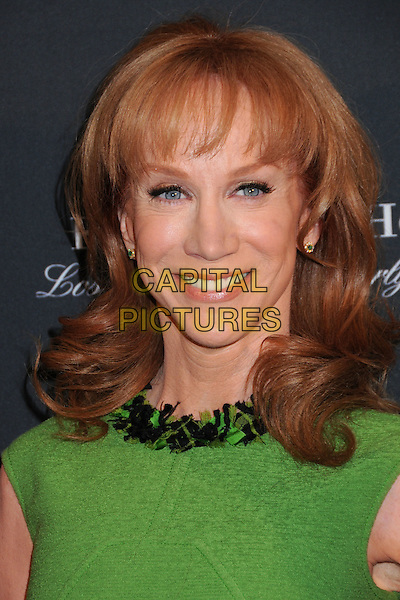 KATHY GRIFFIN .17th Annual BAFTA Los Angeles Awards Season Tea Party held at the Four Seasons Hotel, Beverly Hills, California, USA, 15th January 2011..portrait headshot green sleeveless smiling .CAP/ADM/BP.©Byron Purvis/AdMedia/Capital Pictures.