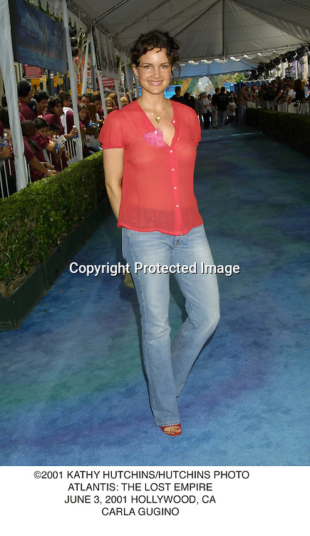 ©2001 KATHY HUTCHINS/HUTCHINS PHOTO.ATLANTIS: THE LOST EMPIRE.JUNE 3, 2001 HOLLYWOOD, CA.CARLA GUGINO