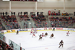 A general view of LaBahn Arena during the Wisconsin Badgers NCAA women's college ice hockey game against the Minnesota Duluth Bulldogs Sunday, February 17, 2013, in Madison, Wis. The Badgers won 3-2 (OT) (Photo by David Stluka)
