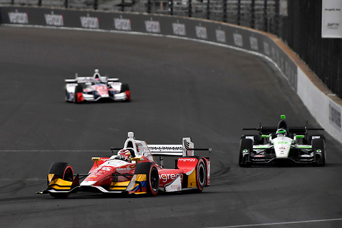 12-14 May, 2016, Indianapolis, Indiana USA<br /> Carlos Munoz, Conor Daly<br /> ©2016, Scott R LePage <br /> LAT Photo USA