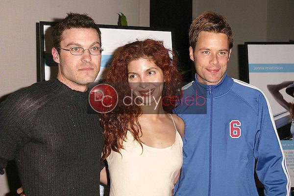 Brian Austin Green, Jenna Mattison and Brad Rowe