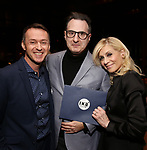 Andrew Lippa, Jon Robin Baitz and Judith Light attends the 2019 DGF Madge Evans And Sidney Kingsley Awards at The Lambs Club on March 18, 2019 in New York City.