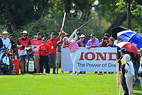 PATTAYA, THAILAND - FEBRUARY 22: Ariya Jutanugarn of Thailand on the 5th tee during the second round of the Honda LPGA Thailand 2019 at Siam Country Club Pattaya (Old Course), Pattaya, Thailand on February 22, 2019.<br /> .<br /> .<br /> .<br /> (Photo by: Naratip Golf Srisupab/SEALs Sports Images)<br /> .<br /> Any image use must include a mandatory credit line adjacent to the content which should read: Naratip Golf Srisupab/SEALs Sports Images