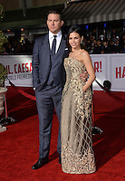 Actor Channing Tatum &amp; actress wife Jenna Dewan Tatum at the world premiere of his movie &quot;Hail Caesar!&quot; at the Regency Village Theatre, Westwood.<br /> February 1, 2016  Los Angeles, CA<br /> Picture: Paul Smith / Featureflash