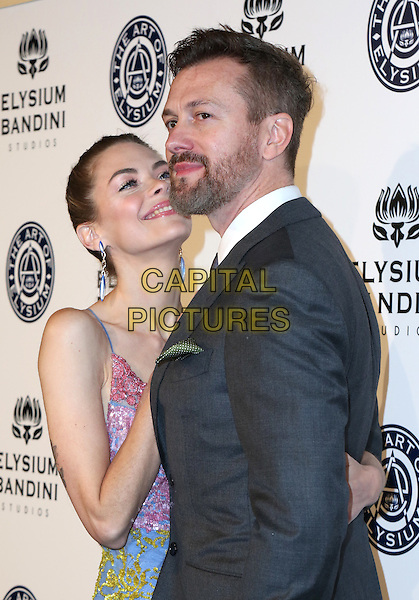 LOS ANGELES, CA - JANUARY 7: Jaime King and Kyle Newman at the The Art Of Elysium Tenth Annual Celebration 'Heaven' Charity Gala at Red Studios i Los Angeles, California on January 7, 2017. <br /> CAP/MPI/PA<br /> &copy;PA/MPI/Capital Pictures