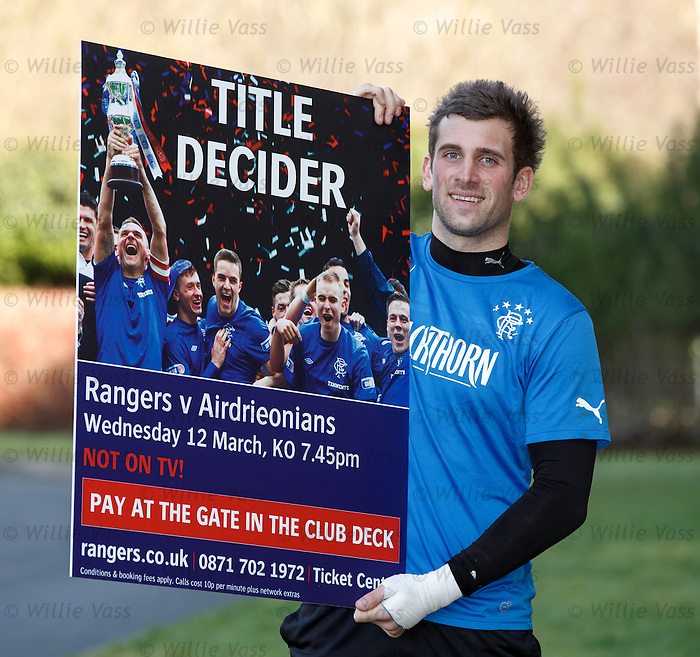 Cammy Bell promoting pay at the gate tomorrow night