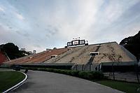 SÃO PAULO, SP 26.02.2019: SANTOS-RIVER PLATE - Santos e River Plate-URU, em jogo de volta pela Copa Sul-Americana, no estádio Pacaembu, zona oeste da capital. A partida acontece de portões fechados para a torcida. (Foto: Ale Frata/Codigo19)
