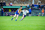 Cormac Cronin Spa turns away from Liam Carey Beaufort during their County League clash in Beaufort on Friday night