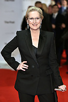 Meryl Streep<br /> &quot;The Post&quot; European film premiere at the Odeon cinema, Leicester Square, London, England on January 10th, 2017<br /> CAP/PL<br /> &copy;Phil Loftus/Capital Pictures