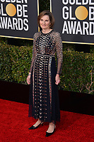 LOS ANGELES, CA. January 06, 2019: Deborah Davis at the 2019 Golden Globe Awards at the Beverly Hilton Hotel.<br /> Picture: Paul Smith/Featureflash