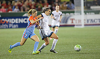 Portland, OR - Wednesday Sept. 07, 2016: Katherine Reynolds, Kealia Ohai during a regular season National Women's Soccer League (NWSL) match between the Portland Thorns FC and the Houston Dash at Providence Park.