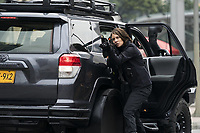 Mile 22 (2018) <br /> Lauren Cohan<br /> *Filmstill - Editorial Use Only*<br /> CAP/FB<br /> Image supplied by Capital Pictures
