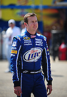 Oct 3, 2008; Talladega, AL, USA; NASCAR Sprint Cup Series driver Kurt Busch during practice for the Amp Energy 500 at the Talladega Superspeedway. Mandatory Credit: Mark J. Rebilas-