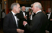 04 April 2019 - London, England - Prince Charles Prince of Wales chats to Mark Carney at Our Planet Global Premiere held at the Natural History Museum in London. Photo Credit: ALPR/AdMedia