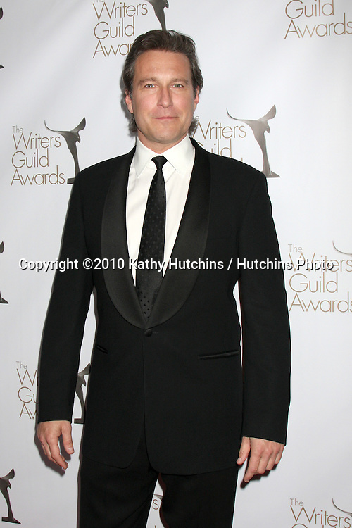 John Corbett.arriving at 2010 Writers Guild of America Awards.Century Plaza Hotel.Century City, CA.February 20, 2010.©2010 Kathy Hutchins / Hutchins Photo....