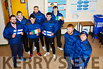 Eight students from I T Tralee who are going on an expedition to Finland on Friday and were preparing for the trip in the South Campus on Monday morning.  <br /> Front l-r, Dylan Burke and Conor Daly.<br /> Back l-r, Ian Haugh, David Graham, Eodhan McCrohan, Stephen Collins, David Hanney and Ray Outram.