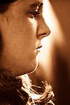profile of girl