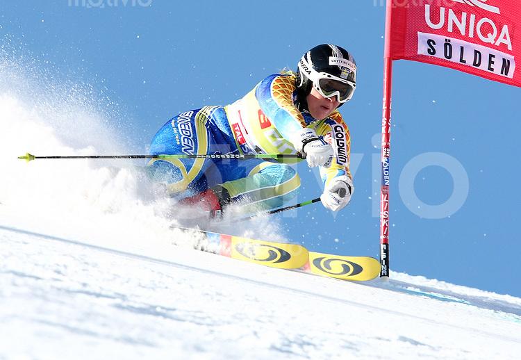 Ski Alpin; Saison 2006/2007  Riesenslalom Soelden Damen Anja Paerson (SWE)