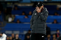 3rd March 2020; Stamford Bridge, London, England; English FA Cup Football, Chelsea versus Liverpool; A dejected looking Liverpool Manager Jurgen Klopp