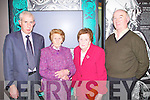 MUSEUM: Attending the official unveiling of the Martara Brooch at the Kerry County Museum, Tralee on Friday l-r: Joe and Bridget Degan, Ballylongford, Bridget Edgeworth, Asdee and Tommy Moriarty, Ballylongford.