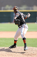 Jose Casilla, San Francisco Giants 2010 minor league spring training..Photo by:  Bill Mitchell/Four Seam Images.