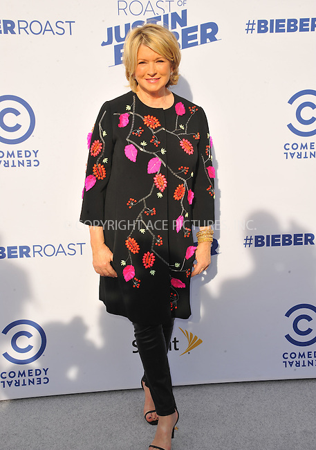 WWW.ACEPIXS.COM<br /> <br /> March 14 2015, LA<br /> <br /> Martha Stewart arriving at the Comedy Central Roast Of Justin Bieber on March 14, 2015 in Los Angeles, California. <br /> <br /> By Line: Peter West/ACE Pictures<br /> <br /> <br /> ACE Pictures, Inc.<br /> tel: 646 769 0430<br /> Email: info@acepixs.com<br /> www.acepixs.com
