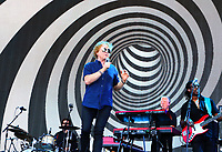 Simply Red - Mick Hucknall - on stage at BBC Radio 2 Live in Hyde Park event, Hyde Park, London on September 15th 2019<br /> <br /> Photo by Keith Mayhew