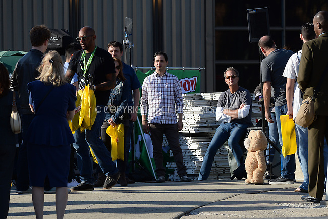 WWW.ACEPIXS.COM<br /> October 6, 2014 New York City<br /> <br /> Ted filming a scene for Ted 2  in Midtown on October 6, 2014 in New York City.<br /> <br /> By Line: Kristin Callahan/ACE Pictures<br /> ACE Pictures, Inc.<br /> tel: 646 769 0430<br /> Email: info@acepixs.com<br /> www.acepixs.com